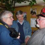 Birgit Gargitter im Gespräch mit Heinz Boß und Heinz Wuwer